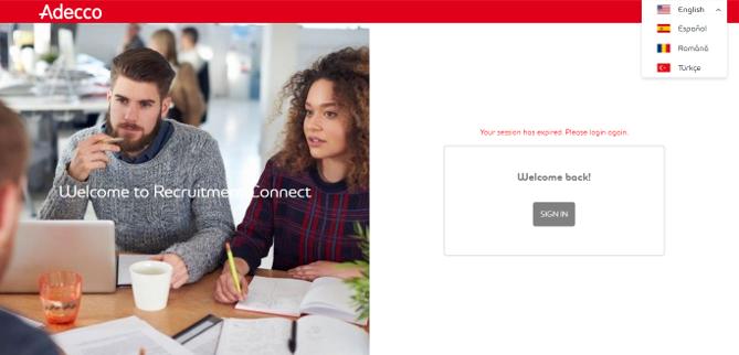 Recruitment Connect platform